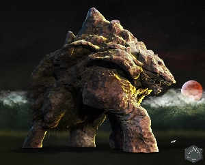 Batholith the Summit Kaiju (Mountain Kaiju)