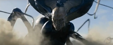 Better look at the Independence Day: Resurgence Alien Queen