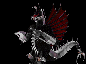 Black Gigan Re-texture (Godzilla Unleashed: Overhaul v1.5)