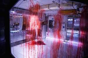 Bloody aftermath of Alien attack