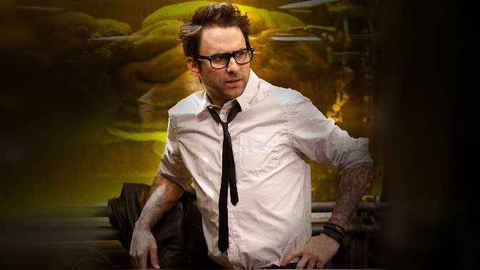Charlie Day is Dr. Newton Geizler