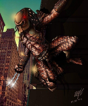City Hunter PREDATOR fan art