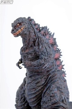 Close up of the HG Shin #Godzilla figure.