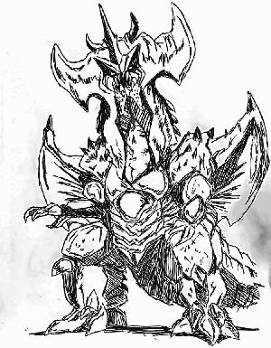 Destoroyah Sketch