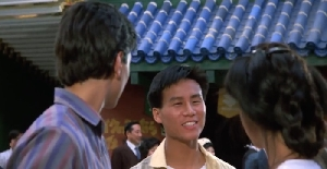Dr.Wu from Jurassic Park in 1986 Karate kid 2