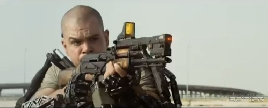 Elysium Movie Trailer Screencap 33