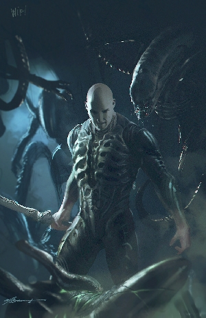 Engineer vs. Xenomorphs