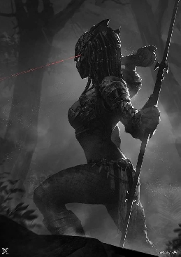 Female Predator by MistXG