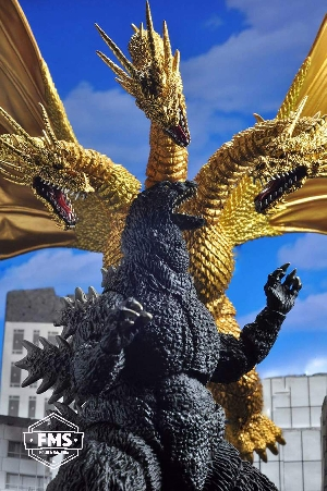 FMS Toy Photography - SHMA Godzilla vs King Ghidorah