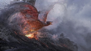Godzilla 2 concept art by MPC