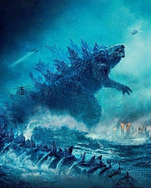 Godzilla 2 Total Film Textless Cover