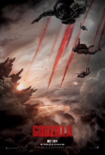 Godzilla 2014 Official Theatrical Poster #2