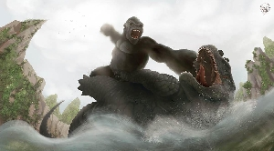Godzilla vs. Kong by Sean Chong