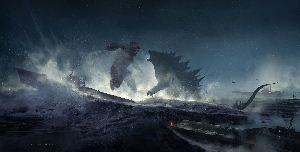 Godzilla vs. Kong concept art by Matt Allsopp