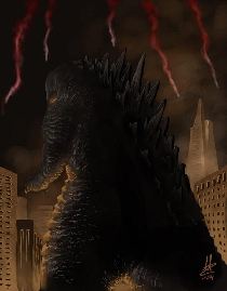 New Godzilla 2014 Fan Art