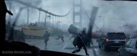 International Godzilla Trailer Screenshots