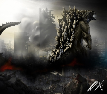 Godzilla 2014 Fan Artwork
