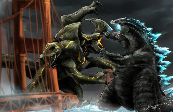 Godzilla vs. Trespasser Kaiju Fan Art