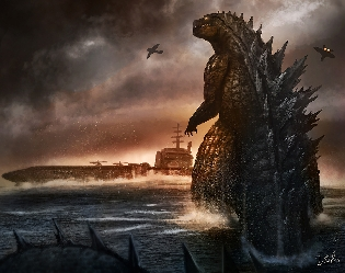 Incredible Godzilla Fan Art