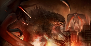 Godzilla Fan Artwork - MUTOs