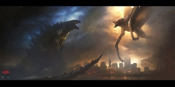 More Godzilla vs. MUTO Fan Art