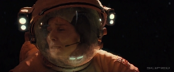 Gravity Movie Trailer Screencap 14