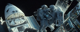 Gravity Movie Trailer Screencap 8