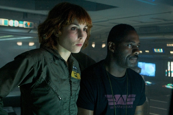 Idris Elba and Noomi Rapace on the Prometheus