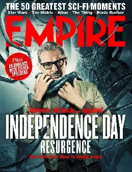 Jeff Goldblum featured on cover of The Hollywood Reporter