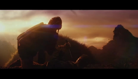 Kong: Skull Island - King Kong Attacks