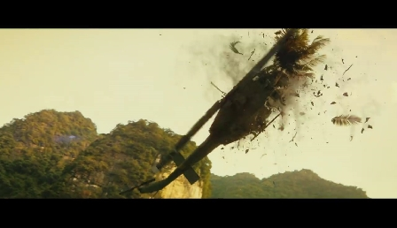 Kong: Skull Island Comic-Con Trailer Screenshot
