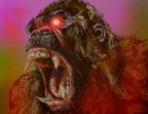 Kong Digital Painting
