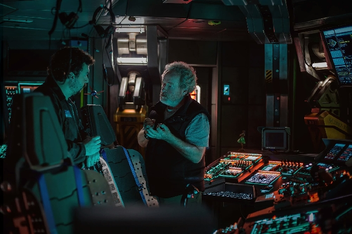 Mission Briefing - New Alien: Covenant production photo