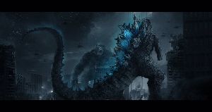 Monsterverse Godzilla vs. Kong Fan Art by Fang Pu