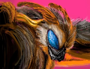 Mothra Digital Painting
