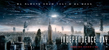 New Independence Day: Resurgence Banner