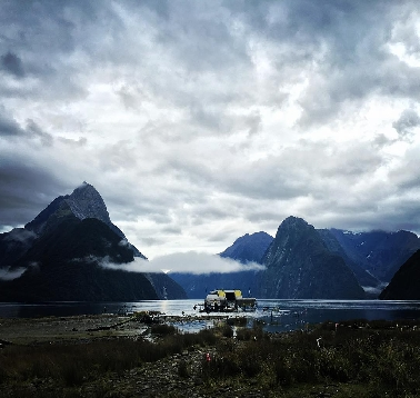 New Alien: Covenant set photo from New Zealand