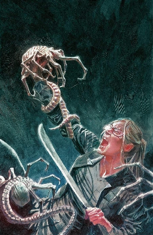 Aliens: Defiance #6 Cover Art