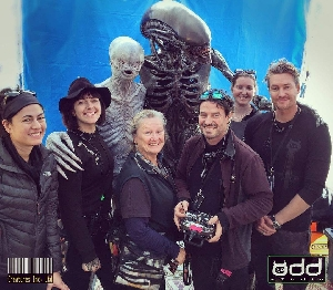 Odd Studio Xenomorph and Neomorph set photo