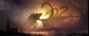 Official Godzilla vs. Ghidorah Concept Art