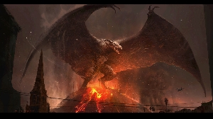Official Rodan Concept Art