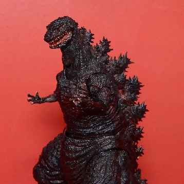 Our first look at SH monster arts Shin Godzilla.
