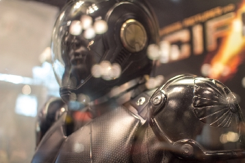 Pacific Rim Movie Soldier Costume Close-Up from NYCC