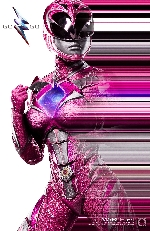 Pink Power Ranger poster