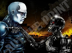 Prometheus Engineer vs The Terminator