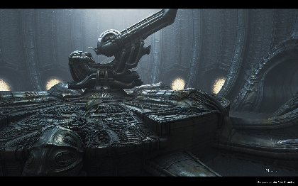 Digital Concepts for the Orrey Room in Prometheus