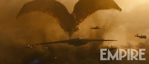 Rodan movie still from Empire Magazine 2019