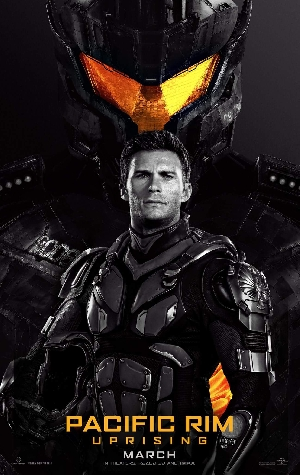 Scott Eastwood Pacific Rim Uprising Poster