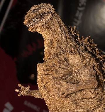 Shin Godzilla model from exhibit.