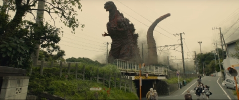 Shin-Gojira arrives